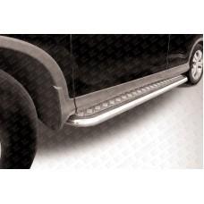 Пороги d57 с листом Honda CR-V (2013) (2L)