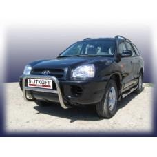 Кенгурятник низкий d57 Hyundai Santa Fe Classic (Таганрог)