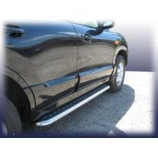 Пороги d57 с листом Hyundai Santa Fe Classic (Таганрог)