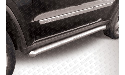 Пороги d57 с гибами JEEP Grand Cherokee (2011) на Jeep Grand Cherokee (2010-2013)