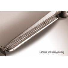 Пороги d57 с листом Lexus NX 300h
