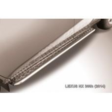 Пороги d42 с листом Lexus NX 300h