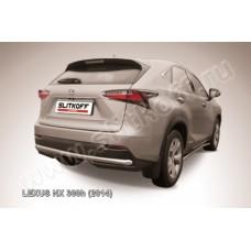 Защита заднего бампера d57 Lexus NX 300h