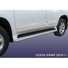 Защита штатного порога d42 Lexus GX-460 (2010)