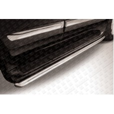 Защита штатного порога d57 Lexus LX-570