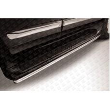 Защита штатного порога d42 Lexus LX-570