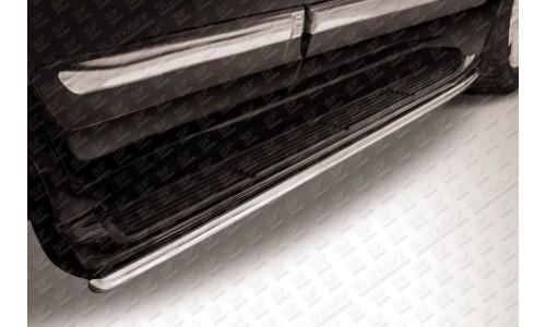 Защита штатного порога d42 Lexus LX-570 на Lexus LX570 (2012-2015)