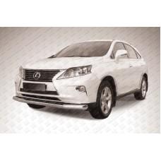 Защита переднего бампера d76 Lexus RX-350/RX-270 (2012)