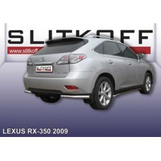 Уголки d76 Lexus RX-350 (2009)