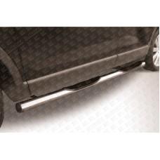 Пороги d76 с проступями Mazda CX-9
