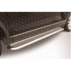 Пороги d57 с листом Mazda CX-9