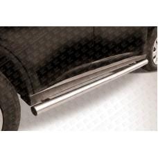 Пороги d57 труба Mitsubishi Outlander (2014)