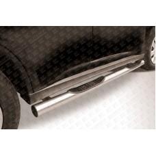 Пороги d76 с проступями Mitsubishi Outlander (2013)