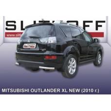 Уголки d57 Mitsubishi Outlander XL (рестайлинг 2010)