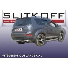 Уголки d57 Mitsubishi Outlander XL (до 2010)