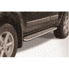 Пороги d57 с листом Nissan Pathfinder R51