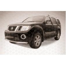 Защита переднего бампера d76 Nissan Pathfinder (2011)
