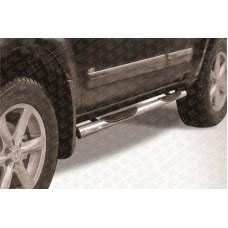 Пороги d76 с проступями Nissan Pathfinder (2011)