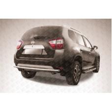 Защита заднего бампера d42 Nissan Terrano (2014)