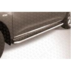 Пороги d57 с листом Nissan Murano (2011)