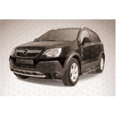 Защита переднего бампера d57 Opel Antara