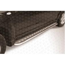 Пороги d42 с листом Subaru Forester