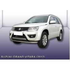Защита переднего бампера d57 Suzuki Grand Vitara (2012)
