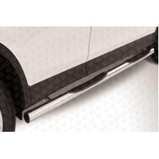 Пороги d76 с проступями Toyota RAV-4 (2013)