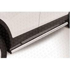 Пороги d76 труба Toyota RAV-4 (2013)