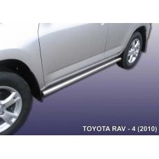 Пороги d57 труба Toyota RAV-4 (2010)