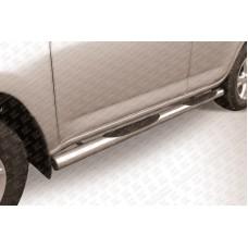 Пороги d76 с проступями Toyota RAV4 (2009)