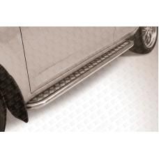 Пороги d57 с листом Toyota RAV-4 (2006)