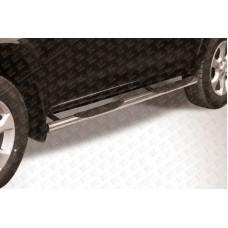 Пороги d76 с проступями Toyota RAV4 L (2009)