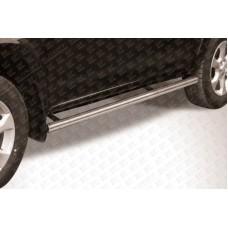 Пороги d76 труба Toyota RAV4 L (2009)
