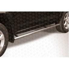 Пороги d57 труба Toyota RAV4 L (2009)