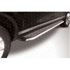 Пороги d57 с листом Volkswagen Touareg (2010)