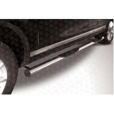 Пороги d76 c проступями Volkswagen Touareg (2010)