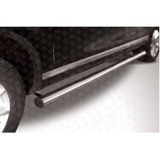 Пороги d76 труба Volkswagen Touareg (2010)