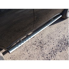 Пороги овальные с проступью 75х42 мм код CHERTIGFL14-08