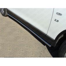 Пороги труба 42,4 мм код INFQX5014-03