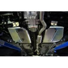 Защита бака левая (алюминий) 4 мм код ZKTCC00084