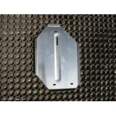 Защита дифференциала (алюминий) 4мм код ZKTCC00079