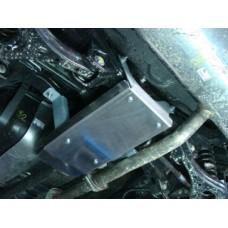 Защита заднего редуктора (алюминий 4 мм) код ZKTCC00055