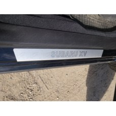 Накладки на пороги (лист шлифованный) код SUBXV12-11