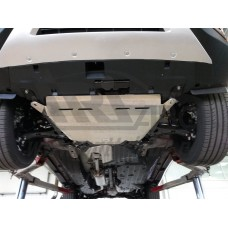 Защита картера двигателя и кпп Honda (Хонда) CR-V; V-2,4 (2015-) (Алюминий 4 мм)