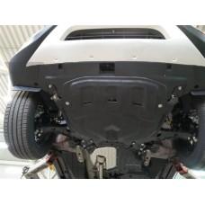 Защита картера двигателя и кпп Honda (Хонда) CR-V; V-2,4 (2015-) (Композит 6 мм)