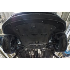 Защита картера двигателя и кпп Hyundai Tucson, V-все, (2015 -)/Kia Sportage, V-все, (2016-) (Компози