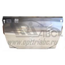 Защита картера двигателя и кпп Infiniti (Инфинити) JX35 ( QX60) V3,5(12-)/Nissan Teana 2WD,4WD,V-все