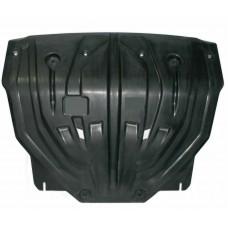 Защита картера двигателя и кпп Kia Sportage (Киа Спортаж) (V-все, 2010-02.2016)  (Композит 8 мм)