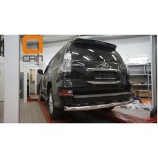Защита заднего бампера Lexus GX460 (2014-) (одинарная) d 76